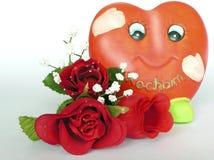 Joyful heart. Gift for liking Stock Images