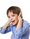 Joyful kid Royalty Free Stock Photo