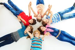 Joyful kids Stock Photography