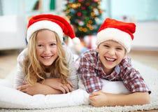 Joyful kids Royalty Free Stock Image