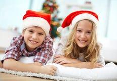 Joyful kids Royalty Free Stock Photos