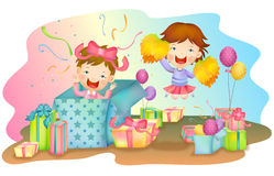 Joyful Life Royalty Free Stock Images