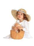 Joyful little girl Stock Photo