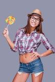 Joyful lollipop. Stock Photography