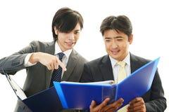 Joyful men Stock Photos