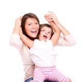 Joyful motherhood Royalty Free Stock Images