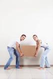 Joyful move Stock Photos