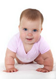 Joyful naughty little girl. Stock Images