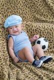 Joyful newborn Stock Photo