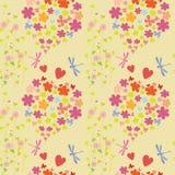Joyful och färgrikt mönstra vektor illustrationer