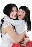 Joyful parent with her daughter Stock Photo