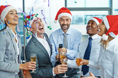 Joyful party Stock Photo