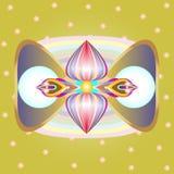 Joyful pattern color for fun Stock Image