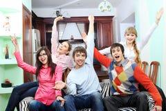 Joyful people Royalty Free Stock Images