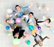 Joyful people Stock Image