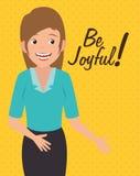 Joyful people design. Royalty Free Stock Photos