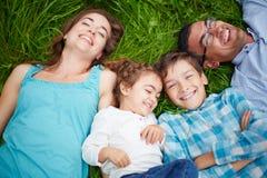 Joyful people Stock Photos
