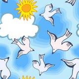 Joyful picture for decorating children`s parties stock illustration