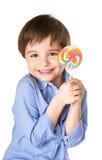 Joyful pojke Arkivbilder