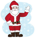 Joyful santa claus. Royalty Free Stock Photo