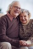 Joyful seniors Stock Images