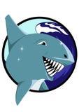 Joyful shark Stock Photography