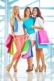 Joyful shoppers Royalty Free Stock Photo
