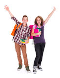 Joyful Students Stock Photography