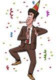 Joyful tax agent Royalty Free Stock Images