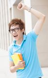 Joyful teen Stock Photography