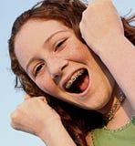 Joyful teen Stock Photos