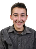Joyful teenager boy Royalty Free Stock Photography