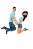 Joyful teens Royalty Free Stock Images