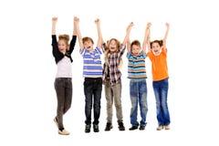Joyful teens Stock Photo