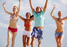 Joyful vacations Royalty Free Stock Photos