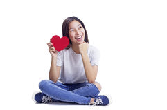 Joyful Valentines Day Royalty Free Stock Image