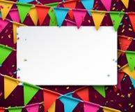 joyful wallpaper för bakgrundsberömkonfettiar Arkivfoto