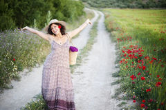 Joyful woman Royalty Free Stock Photos