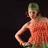 Joyful woman Royalty Free Stock Photo