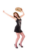Joyful woman Stock Photography