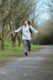 Joyful woman Stock Images
