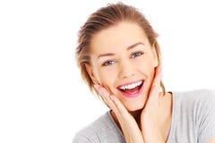 Joyful woman Royalty Free Stock Photography