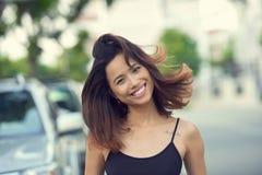 Joyful woman Stock Photo