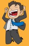 Joyful worker Stock Image