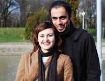 Joyful young couple Royalty Free Stock Images
