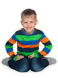 Joyful young fashion boy Royalty Free Stock Image