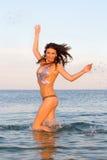 Joyful young woman Stock Photography