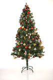 Joyfull Christmas Tree Royalty Free Stock Image
