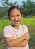 A joyfull cute girl Royalty Free Stock Photo