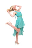 Joyfull woman Royalty Free Stock Photos
